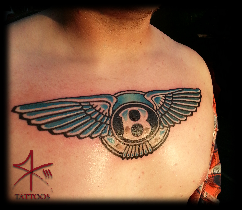 Bentley Emblem Tattoo Pin On Pinterest
