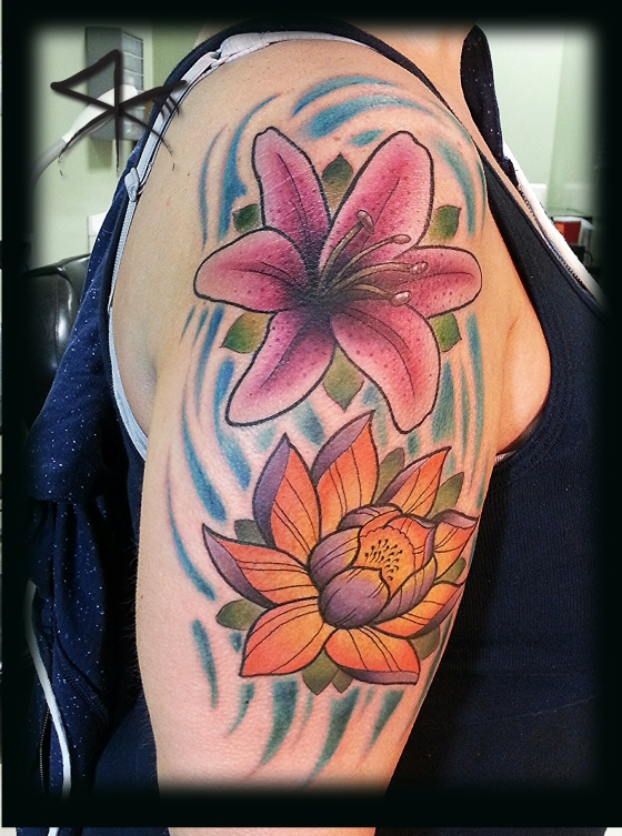 Lily Cover up Half Sleeve 2014